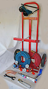 Parweld / Weldcraft Oxy / Acetylene Gas Welding Set /   Portapack Trolley