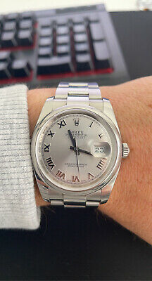Rolex Datejust 36mm Oyster Perpetual Roman Numeral