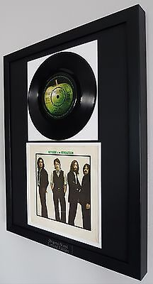 The Beatles Original Vinyl Record 'Hey Jude' Plaque-Certificate-Oasis-Very RARE