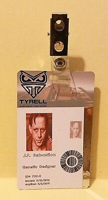 Blade Runner J.F. Sebastian Security ID Card prop