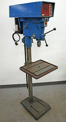 Wilton 3810 6 Speed 15 Floor Model Drill Press 12 Chuck 1.0 Hp 1725 Rpm 115v