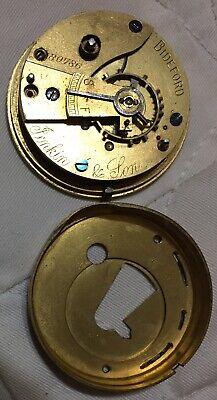 Antique Pocket Watch, Jenkin And Son 18s 7-Elgin, Waltham, Hamilton, Illinois