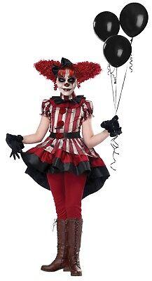 Wicked Klown Clown Circus Girls Child Costume (Girls Clown Costumes)
