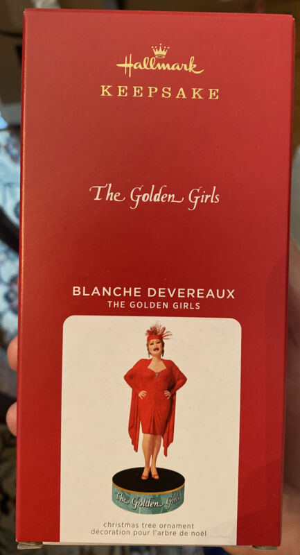 Hallmark 2021 Blanche Devereaux - The Golden Girls - NIB - FREE Shipping