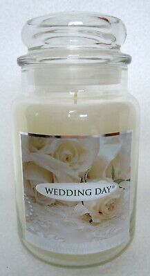 Yankee Candle Wedding Day 22 Oz Large Jar Floral Scent Housewarmer New