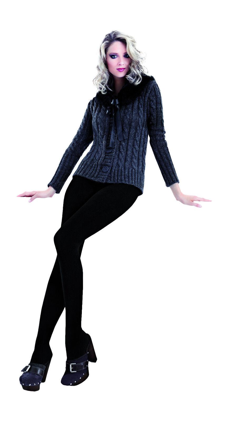 6eba576c86e New Women Girls Luxury Opaque 3D Very Warm Cotton with Wool Tights S M L XL  XXL