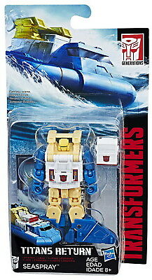 Transformers Generations Titans Return Legends Sea Spray Action Figure