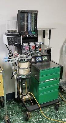 Ohio Modulus I Veterinary Anesthetic Gas Machine