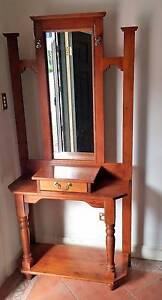 Hallway Stand with Mirror, draw, hooks and shelf Yowie Bay Sutherland Area Preview