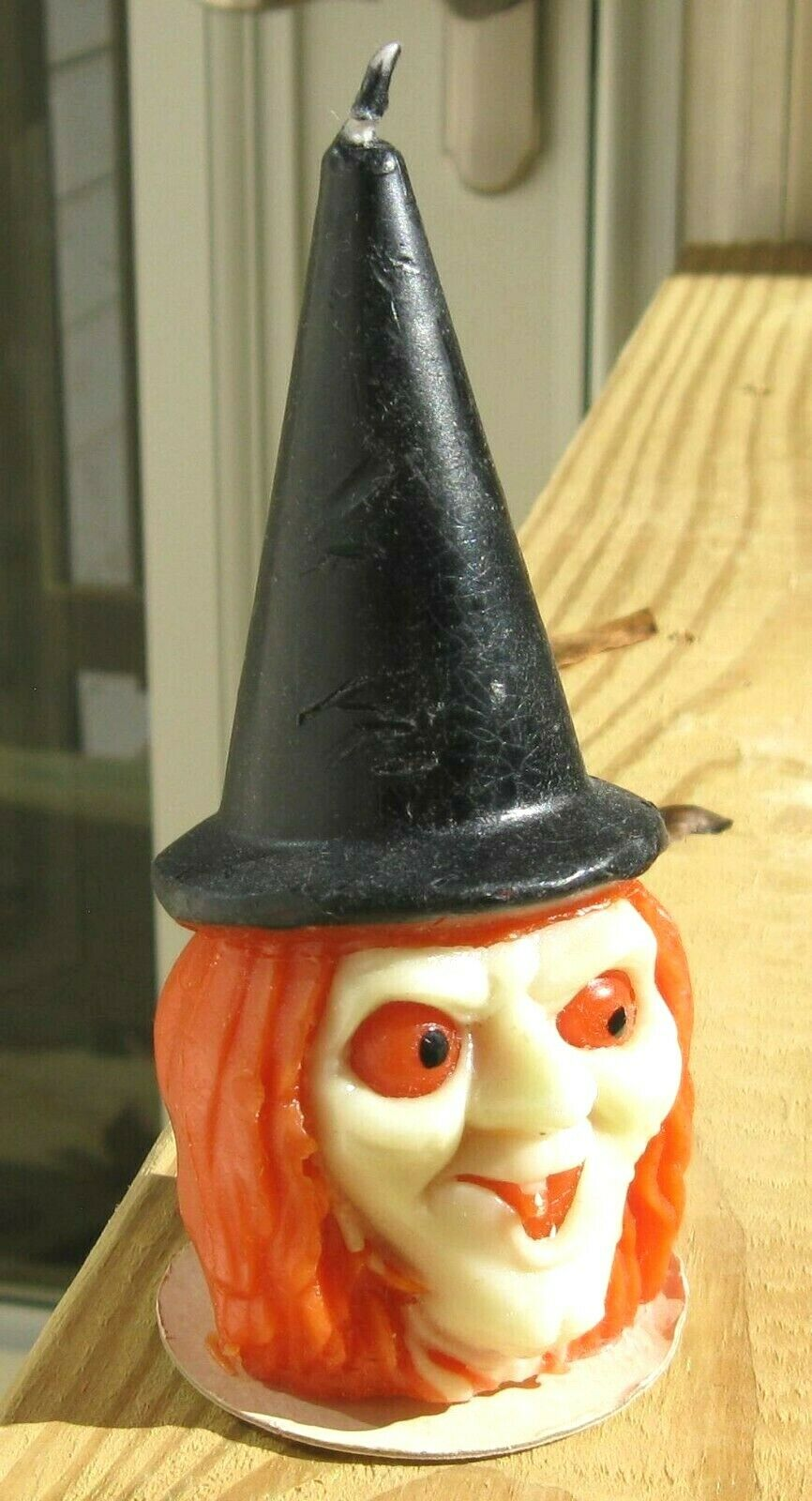 Vintage Gurley Halloween Witch Candle - $19.95