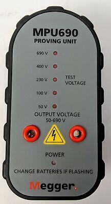 Megger Mpu690 Proving Unit Magnetic Base
