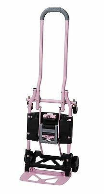 Cosco Shifter Multi-position Heavy Duty Folding Hand Truck And Dolly Pink New