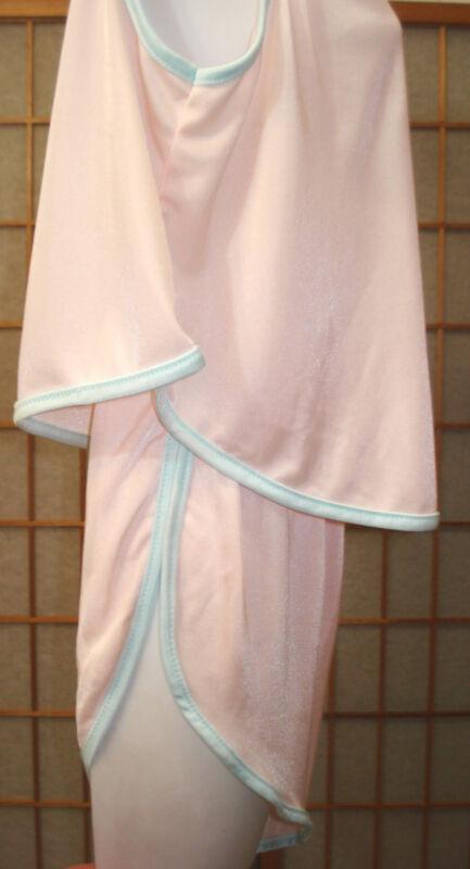 NWOT Ni-tees Intimates Pink & Blue Camisole Set Top & Panties Baby Dolls USA S
