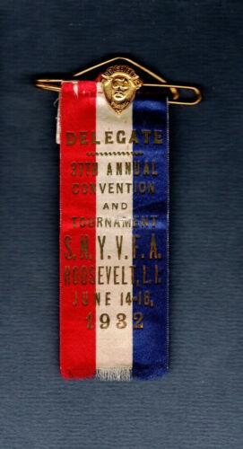 Roosevelt 1932 Southern New York Vol. Firemen