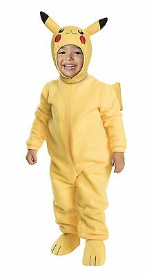 Pokemon Pikachu Kids Costume - Toddler ( Size 2T ) 50166