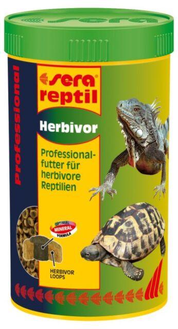 sera reptil Professional Herbivor 250 ml - für pflanzenfressende Reptilien