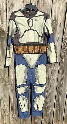 Star Wars Jango Fett Costume (Star Wars Jango Fett Halloween Costume Boys Size L Jumpsuit Only)