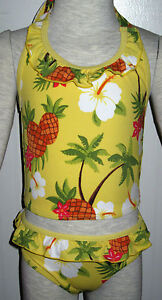 NWT-Gymboree-Aloha-Sunshine-Pineapple-Ruffle-Tankini-Swimsuit-U-Pick-Size-NEW