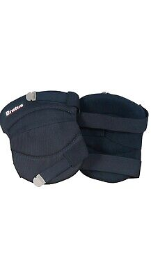 Brutus 79637BR Contour Washable Knee Pads for Hard and Soft Surfaces with Strap Contour Knee Pads