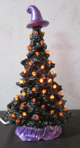 Vintage Style New Halloween Small Tampa Bay Window Sill/Slim Ceramic Tree