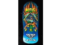 Display Heritage // 101 Natas Skateboard Deck Boom Blau 24.9cm