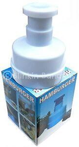 MAKE YOUR OWN HOME MADE HAMBURGER BEEFBURGER MEAT BURGER PATTY MAKER MOULD PRESS
