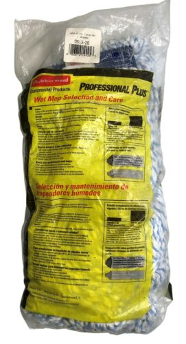 Rubbermaid Commercial Products Professional Plus Finish Mop Head NOS