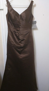Chocolate Brown Party Dress