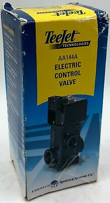 Teejet Technologies Electric Control Valve Aa144a - 736354833680