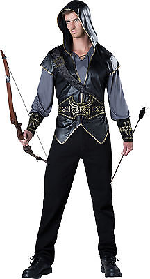 Adult Robin Hood Hooded Huntsman Costume