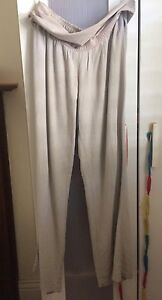 Beige linen trousers - size 12 Annandale Leichhardt Area Preview