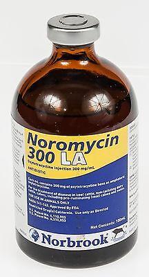 Noromycin 300 La 100ml Beef Cattle Dairy Cattle Calves Swine Antibiotic Norbrook