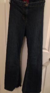MXM dark wash flare size 22