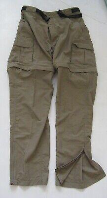 3f69bd7d3c47e Mens Magellan Convertible Pants Back Country Fishing Hiking Shorts Pouch  Belt M