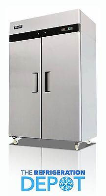 Migali C-2f Two-door Commercial Reach-in Freezer 49 Cu. Ft- Free Shipping