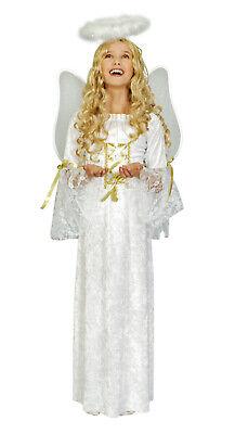 Kostüm Engel Prinzessin Gr. 98-128 Engelskleid Krippenspiel Weihnachten (Engel Prinzessin Kostüm)