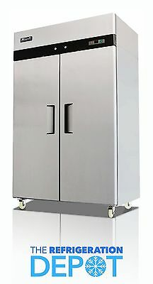 Migali C-2r Two-door Commercial Reach-in Refrigerator 49 Cu. Ft - Free Shipping