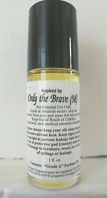 Only The Brave Cologne Body Oil For Men  1 Oz  Two Drops Last All Day