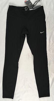 Nike Epic Run Women's Tight Fit Full Length Leggings Black 872261 Size XS