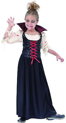 Blutsaugendes Vampirkostüm für Mädchen Cod.221962 ()