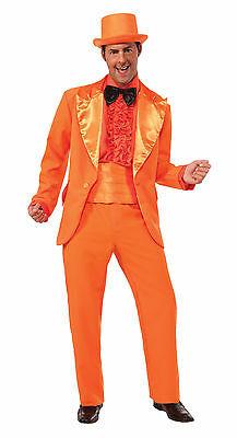 Adult Orange Prom Tuxedo Tux Suit Costume](Orange Tux)