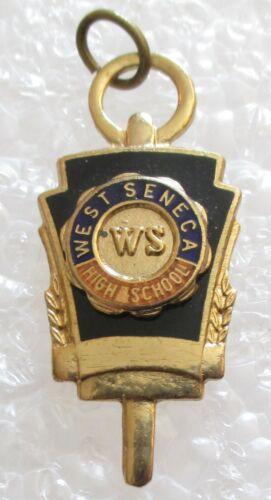 Vintage West Seneca High School Class Souvenir Key Charm - New York