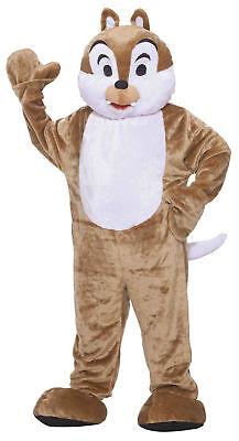 Chipmunk Deluxe Mascot Adult Costume Plush Brown Forum Novelties 68210 Halloween ()
