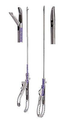 Laparoscopy 5mm Tooth Needle Holder Tc Jaw Storz Ethicon Type Steel Handle 2pc