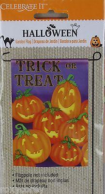 Purple Pumpkin (Halloween Celebrate it Purple Trick or Treat Pumpkin Decorative Flag 12x18)