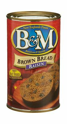 B&M Brown Bread with Raisins, 16-Ounce Cans (Pack of 6)