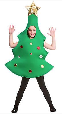 Kinder Weihnachtsbaum Kostüm - 10-12 Jahre - Jungen - Weihnachtsbaum Outfit