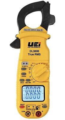 Uei Test Instruments Dl389b True Rms Digital Hvac Clamp Meter