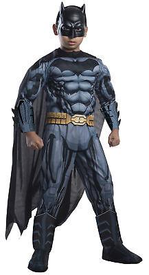 Batman The Caped Crusader Child Superhero Costume Mask Cape Belt Jumpsuit Outfit