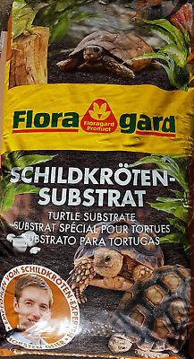 50L Floragard Schildkröten Substrat Schildkrötenerde Terrarienerde Schlangen